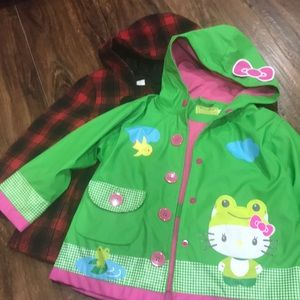 Other - Western Chief raincoat and Cat & Jack jacket